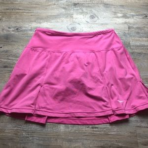 Nike pink tennis golf skort